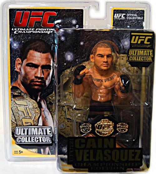 UFC Ultimate Collector Series 9 Cain Velasquez Action Figure [Championship Edition]