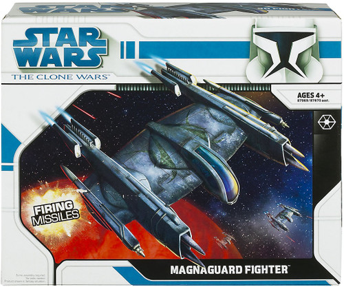 Star Wars The Clone Wars 2008 Magna Guard Fighter Action Figure Vehicle