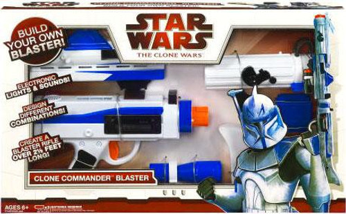 Star Wars The Clone Wars Blasters Build Your Own Clone Ultimate Commander Blaster