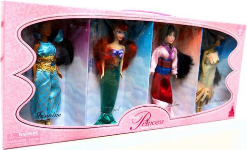 Disney Princess Exclusive 6.5-Inch Doll 4-Pack [Set #1]