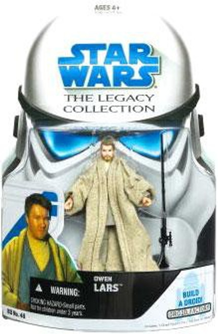Star Wars Revenge of the Sith 2008 Legacy Collection Droid Factory Owen Lars Action Figure BD46