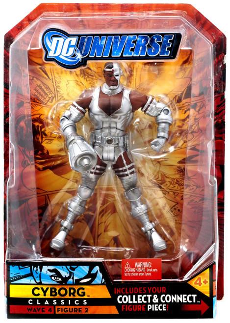 DC Universe Classics Wave 4 Cyborg Action Figure #2 [Hand Variant]