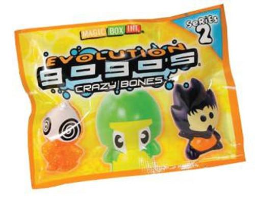 Crazy Bones Gogo's Series 2 Evolution Booster Pack [3 Figures]