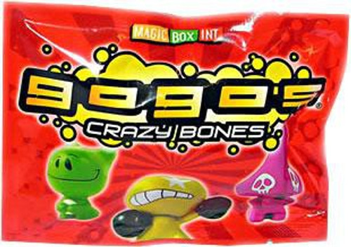 Crazy Bones Gogo's Series 1 Booster Pack [3 Figures]