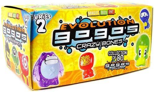 Crazy Bones Gogo's Series 2 Evolution Booster Box [30 Packs]