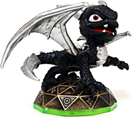 Skylanders Dark Spyro Figure [Silver Wings Loose]
