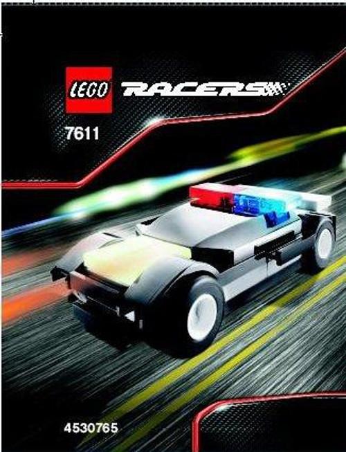 LEGO Racers Police Car Set #7611