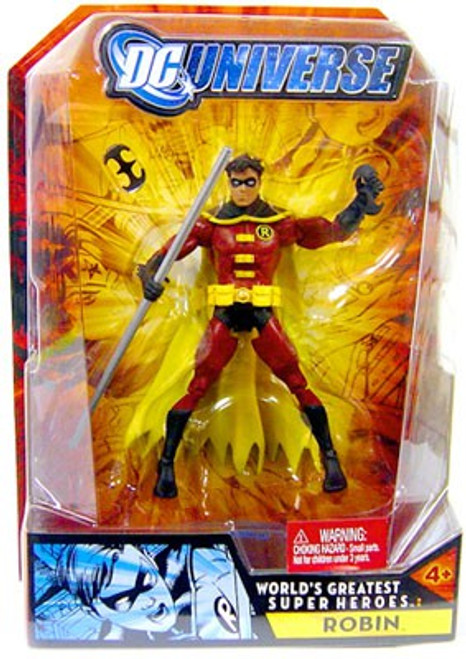 DC Universe Batman World's Greatest Super Heroes Robin Action Figure