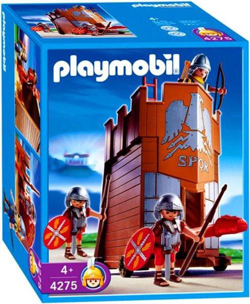 Playmobil Romans & Egyptians Battle Tower Set #4275