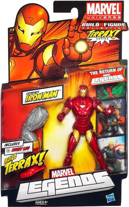Marvel Legends 2012 Terrax Series Extremis Iron Man Action Figure