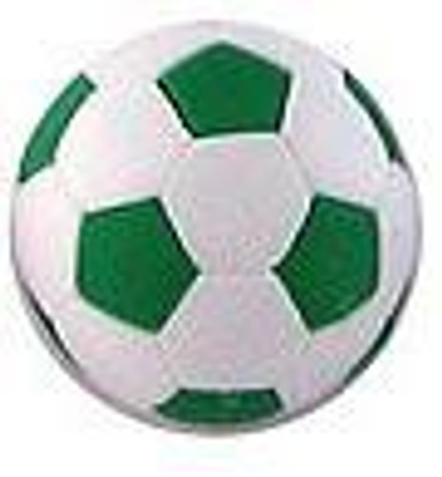 Iwako Green Soccer Ball Eraser