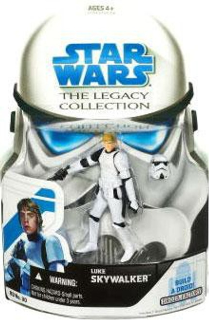 Star Wars A New Hope 2008 Legacy Collection Droid Factory Luke Skywalker Action Figure BD30 [Stormtrooper]