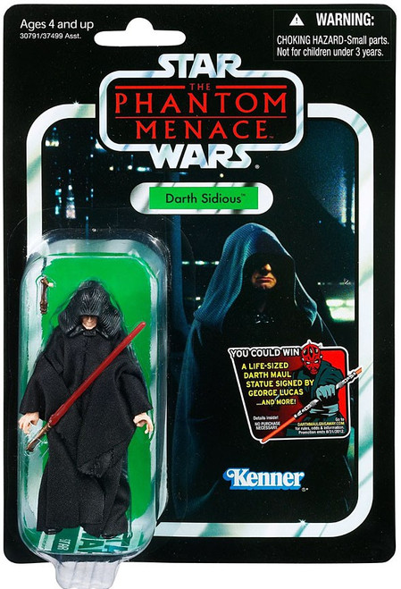 Star Wars Phantom Menace 2012 Vintage Collection Darth Sidious Action Figure #79