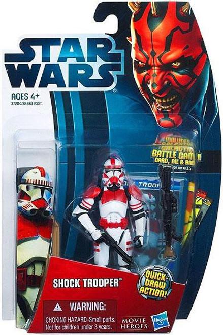 Star Wars Revenge of the Sith 2012 Movie Heroes Shock Trooper Action Figure #1