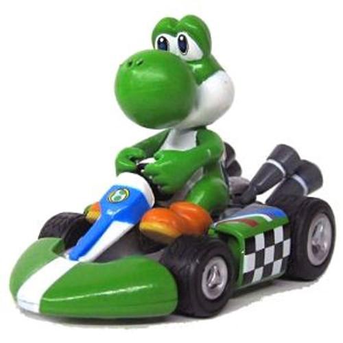 Super Mario Mario Kart Wii Hybrid Pull Back Racer Yoshi Vehicle