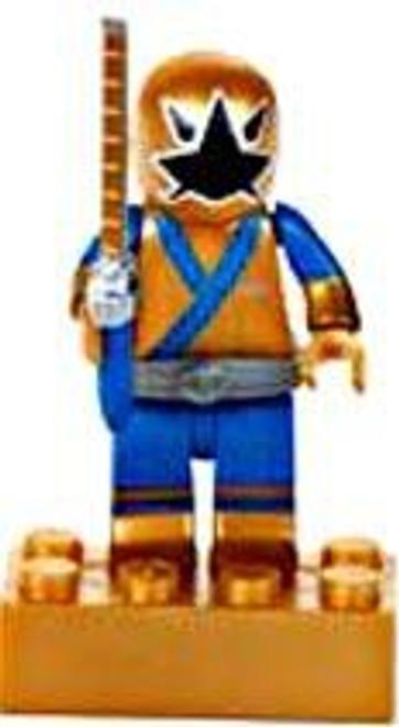 Mega Bloks Power Rangers Samurai Metallic Gold Ranger Minifigure [Loose]