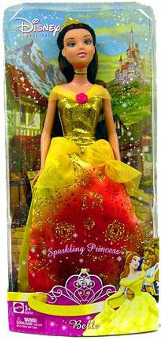 Disney Princess Beauty and the Beast Sparkling Princess Belle 12-Inch Doll