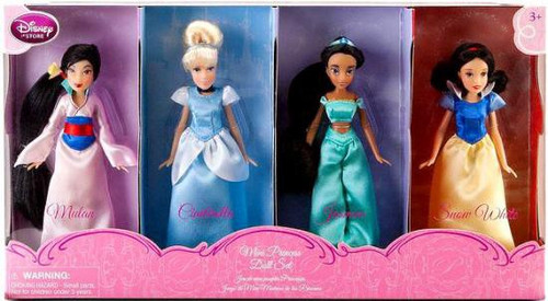 Disney Princess Mini Princess Exclusive Doll Set #1 [Set #1]