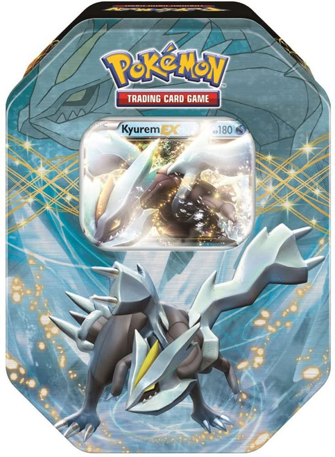 Pokemon Trading Card Game Black & White EX Kyurem Tin Set [4 Booster Packs & Promo Card]