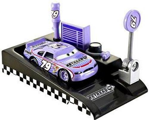Disney / Pixar Cars Pit Row Race-Off Retread No. 79 Diecast Car [Includes Launcher]