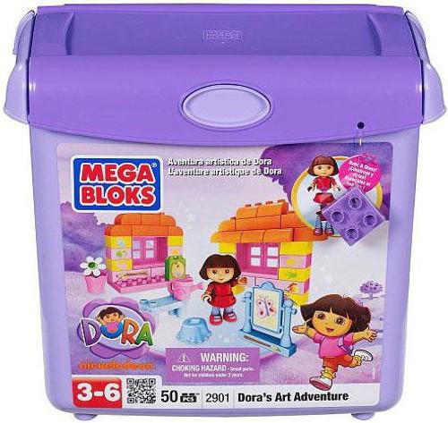 Mega Bloks Dora the Explorer Dora's Art Adventure Set #2901