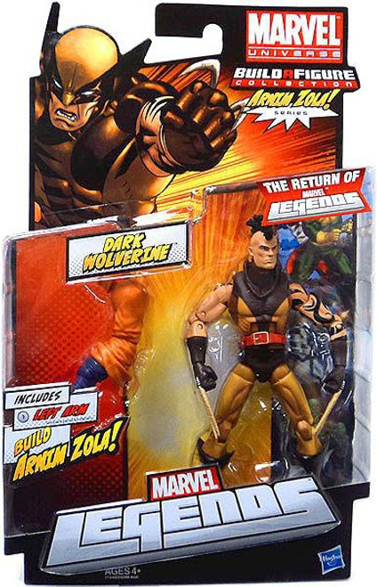 Marvel Legends Arnim Zola Series Dark Wolverine Action Figure [Unmasked Variant]