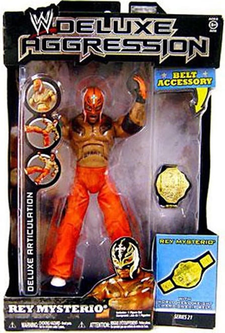 WWE Wrestling Deluxe Aggression Series 21 Rey Mysterio Action Figure