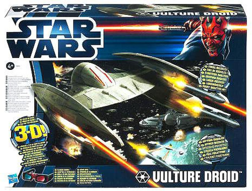 Star Wars Revenge of the Sith Vehicles 2012 Vulture Droid Exclusive Action Figure Vehicle