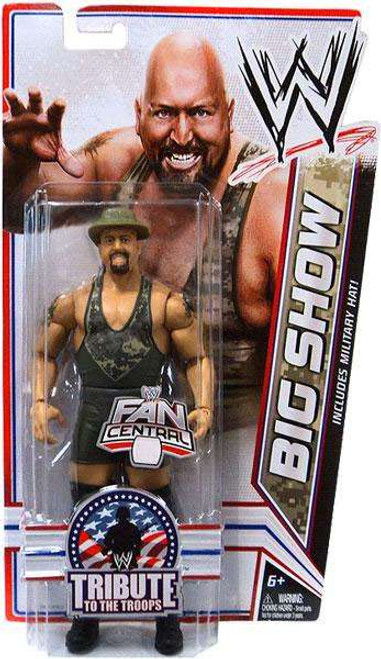 WWE Wrestling Tribute To The Troops Big Show Exclusive Action Figure