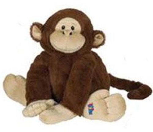 Webkinz Jr. Brown Monkey Plush