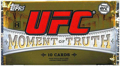 UFC Ultimate Fighting Championship 2011 Moment of Truth Trading Card Pack