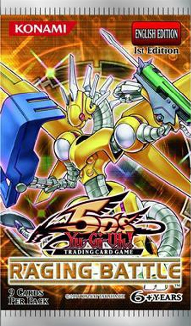YuGiOh Trading Card Game Raging Battle Booster Pack