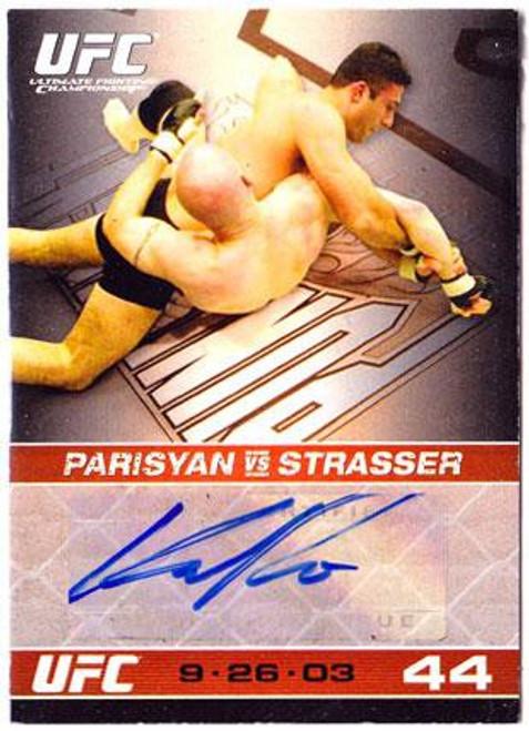 Topps UFC 2009 Round 1 Karo Parisyan Autograph Card
