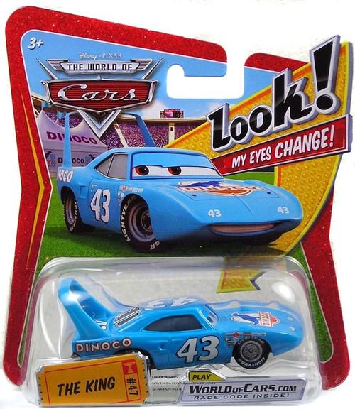 Disney / Pixar Cars The World of Cars Lenticular Eyes Series 1 The King Diecast Car