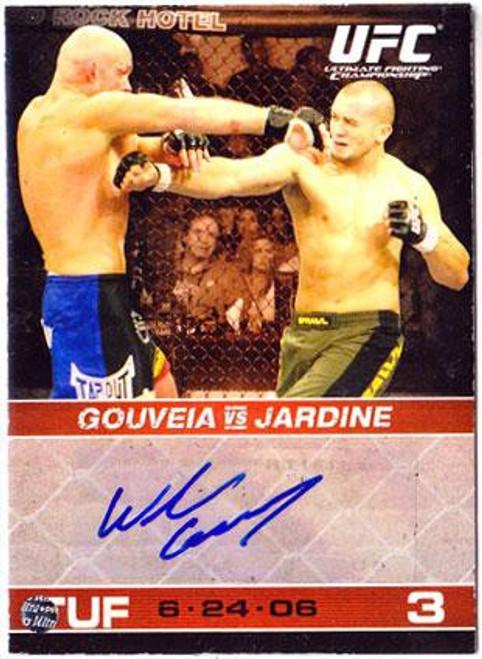 Topps UFC 2009 Round 1 Wilson Gouveia Autograph Card