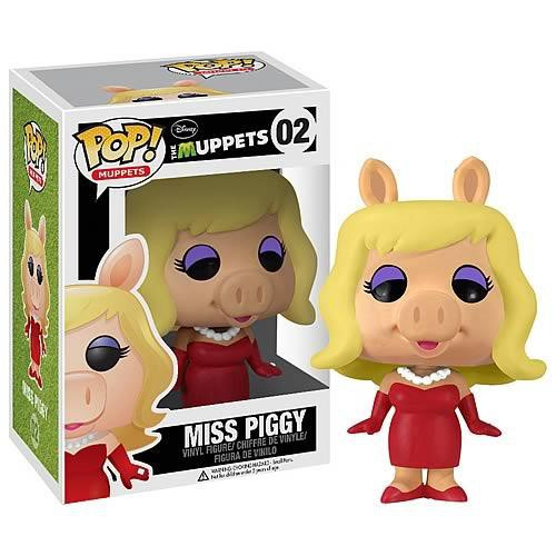 Funko The Muppets POP! TV Miss Piggy Vinyl Figure #02