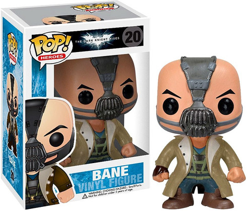 Funko Batman POP! Heroes Bane Vinyl Figure #20 [The Dark Knight Rises]