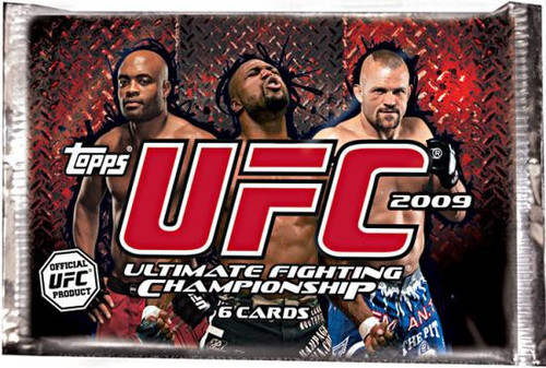 UFC Ultimate Fighting Championship 2009 Round 2 Trading Card RETAIL Pack [6 Cards]