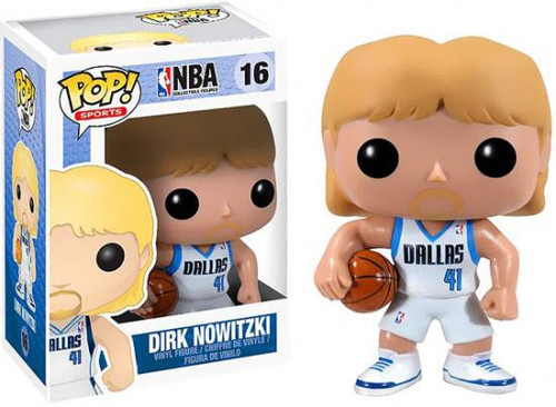 Funko NBA POP! Sports Basketball Dirk Nowitzki Vinyl Figure #16