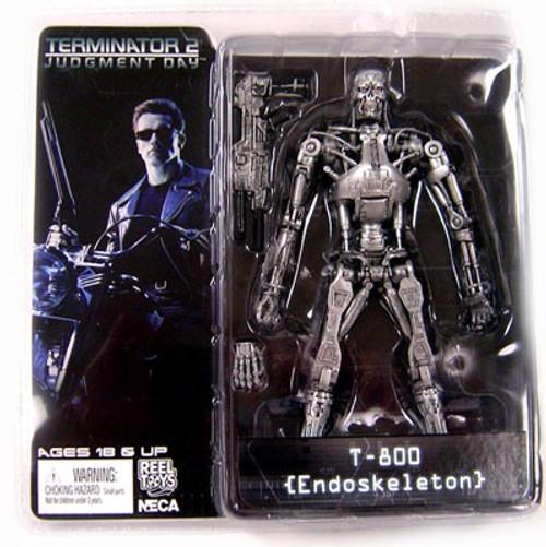 NECA Terminator 2 Judgment Day Series 2 T-800 Action Figure [Endoskeleton]