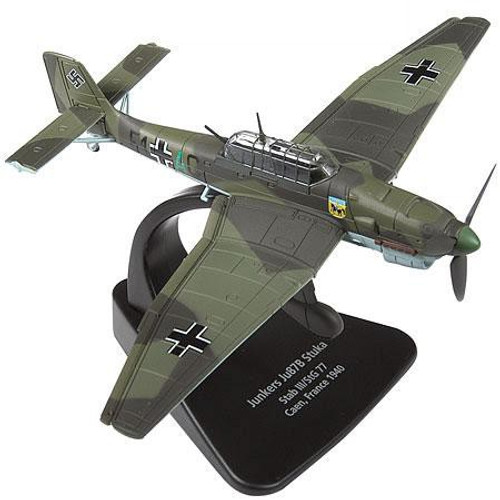 Forces of Valor 1:72 Enthusiast Series Planes German Junkers Ju87B Stuka