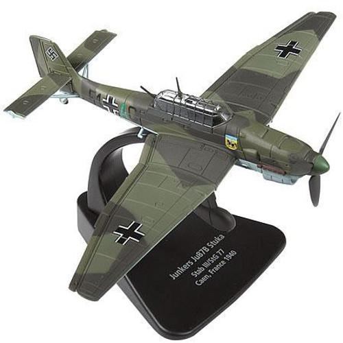 Forces of Valor 1:72 Enthusiast Series Planes German Junkers Ju87B Stuka