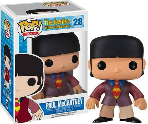 Funko The Beatles Yellow Submarine POP! Rocks Paul McCartney Vinyl Figure #28