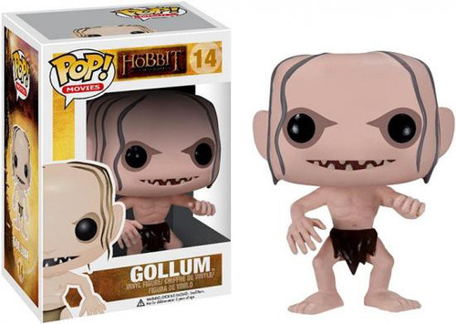 Funko The Hobbit The Desolation of Smaug POP! Movies Gollum Vinyl Figure #14