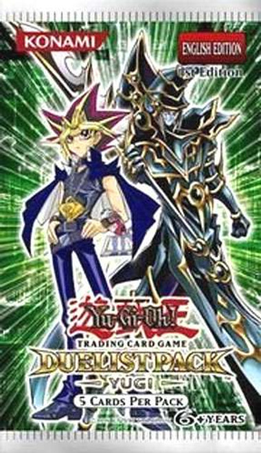 YuGiOh Trading Card Game Duelist Pack Yugi (1st Edition) Booster Pack [5 Cards]