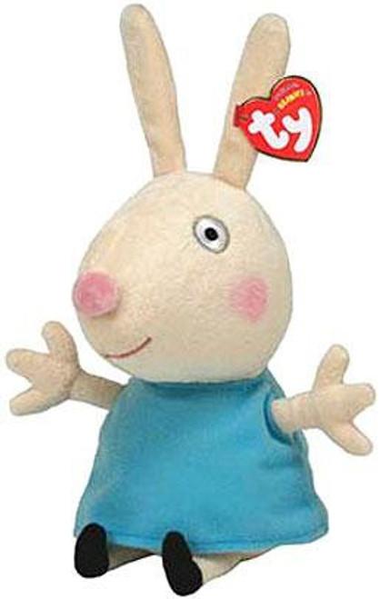 Beanie Babies Peppa Pig Rebecca Rabbit Exclusive Beanie Baby Plush