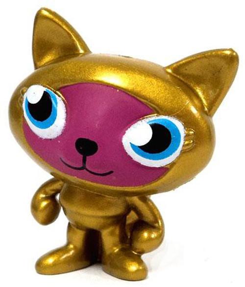 Moshi Monsters Moshlings Gold Limited Edition Sooki-Yaki 1.5-Inch Mini Figure