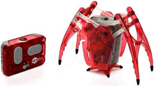 Hexbug Micro Robotic Creatures Inchworm [Red]