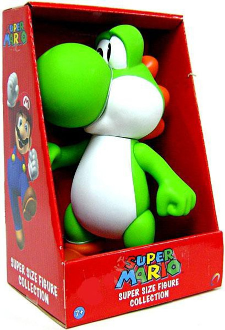 Super Mario Bros Series 1 Yoshi 9-Inch Vinyl Figure [Green]