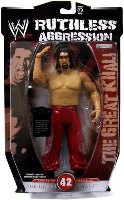 WWE Wrestling Ruthless Aggression Series 42 The Great Khali Action Figure